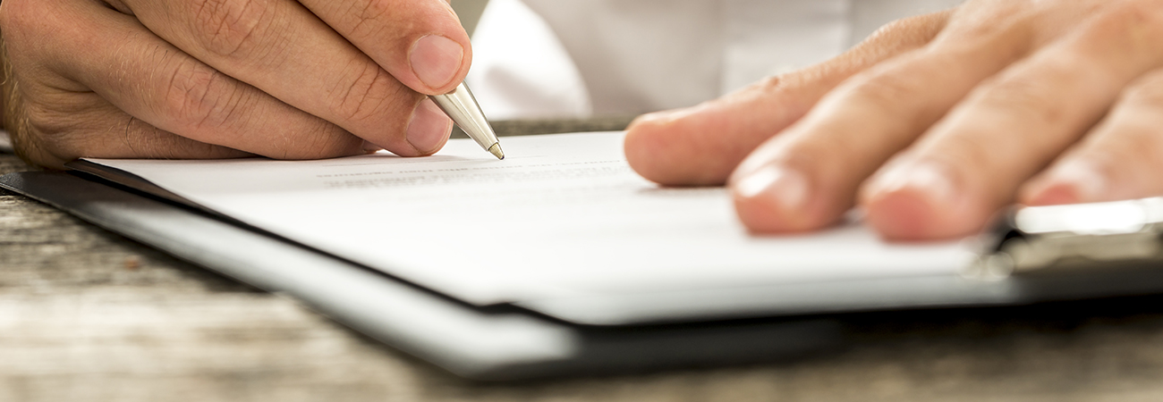 Starting a service agreement